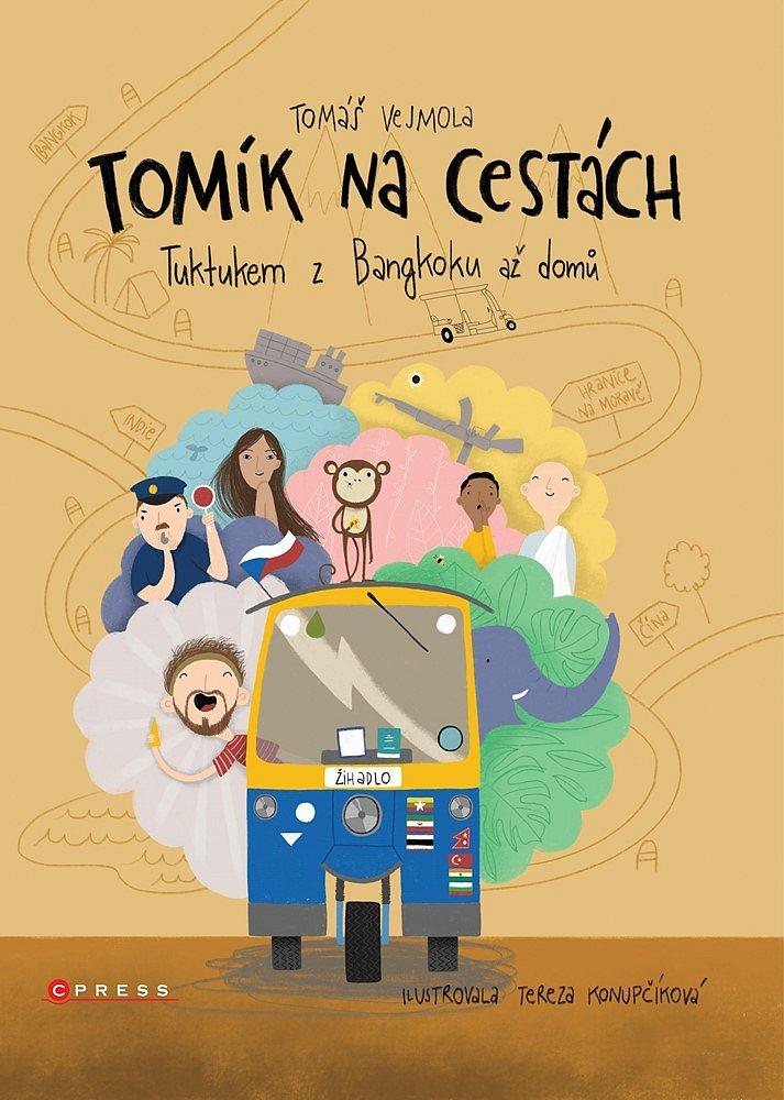 Soutěž o knihu Tomík na cestách