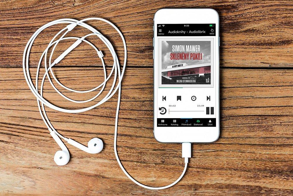 Soutěž o audioknihu Skleněný pokoj