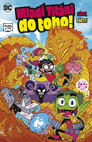 Soutěž o tři dětské komiksy MLADÍ TITÁNI DO TOHO!