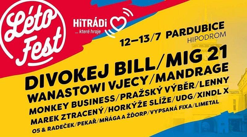 SOUTĚŽ o vstupenky na LÉTO FEST Pardubice
