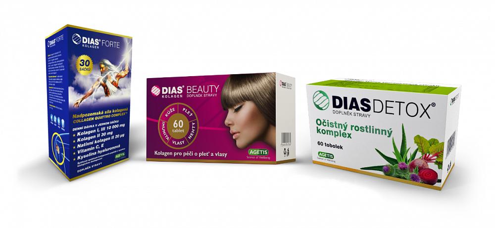 Soutěž o doplňky stravy od značky Dias