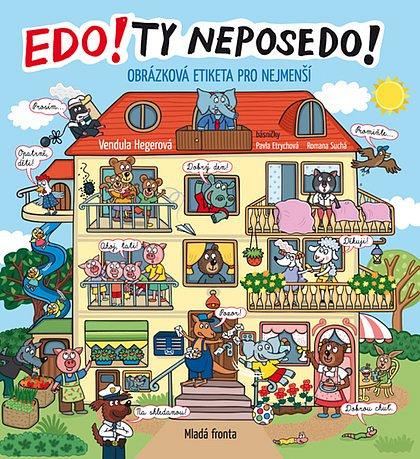 Soutěž o knihu Edo! Ty NEPOSEDO!