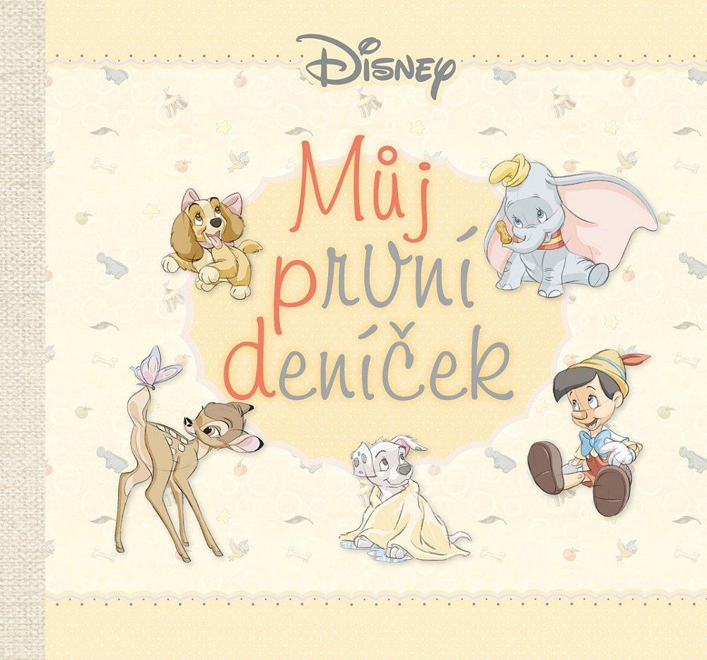 Soutěž o knihu Disney – Můj první deníček
