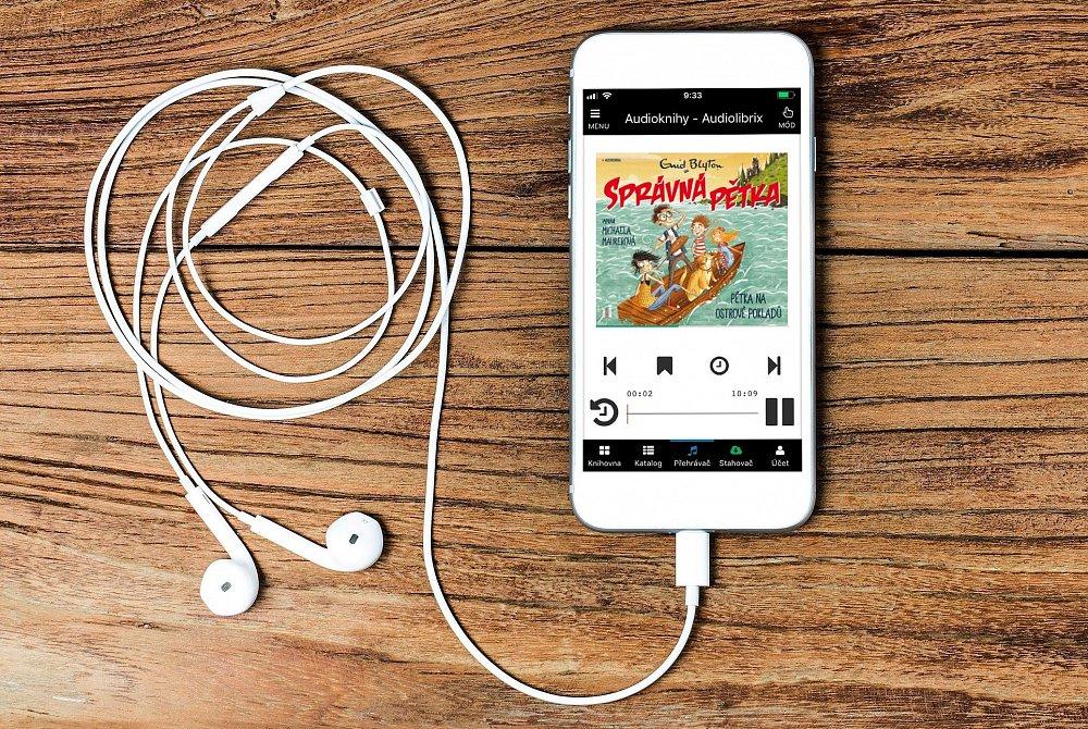 Soutěž o audioknihu Správná pětka