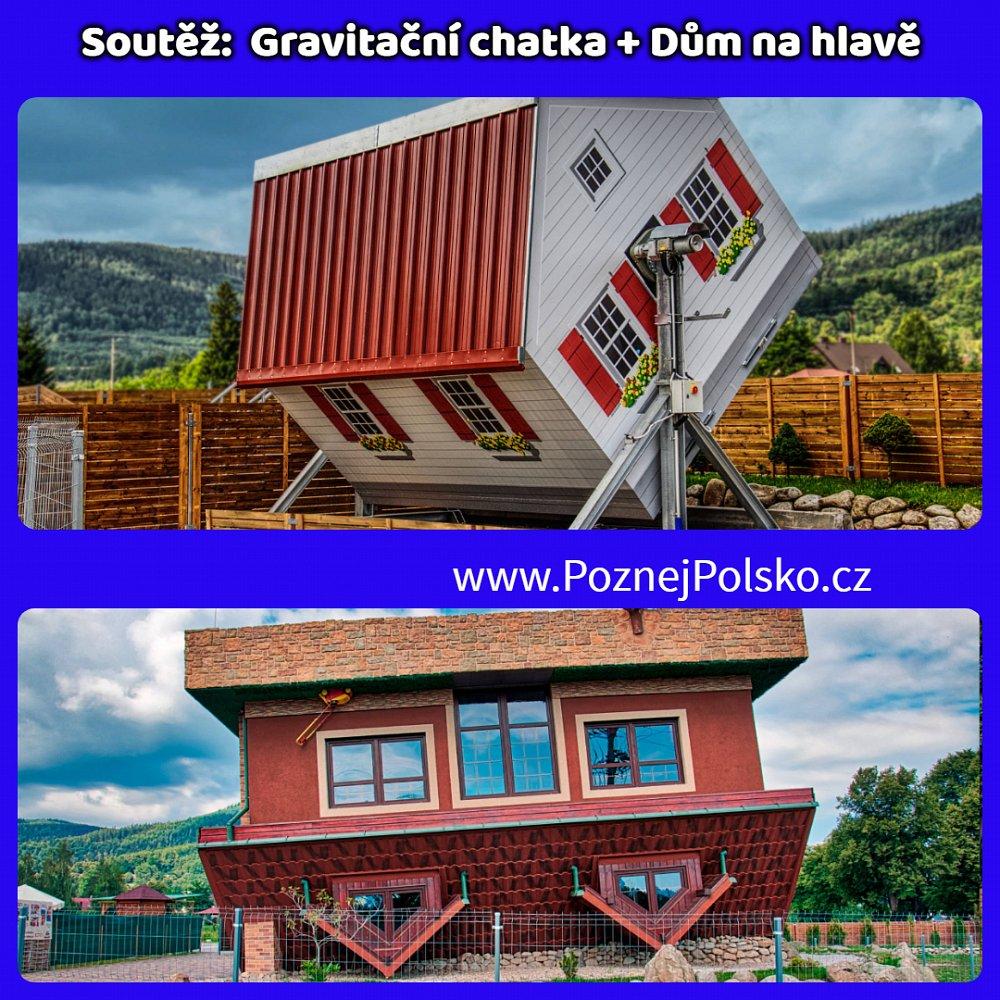 ⏩Soutěž s Domem na hlavě a Gravitační chatou o rodinné vstupenky ⏪