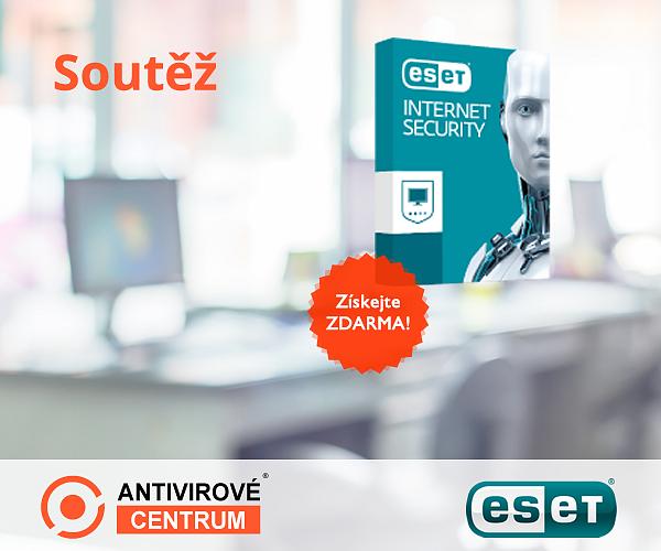 Velká šance získat ESET Internet Security zdarma