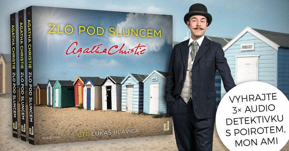 Vyhrajte 3× audio detektivku s Poirotem