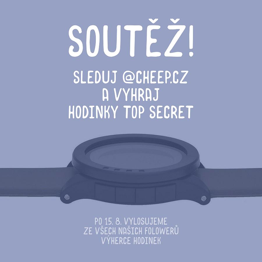 Soutěž o hodinky Top Secret