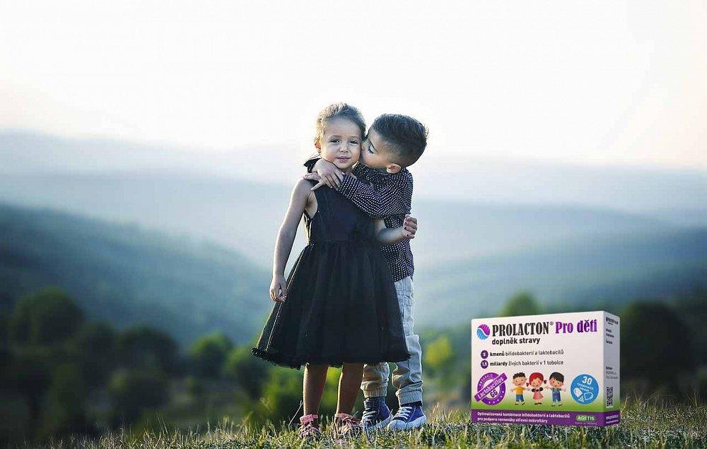 Soutěž o tři balení Prolactonu Pro děti, doplňku stravy pro lepší zažívání