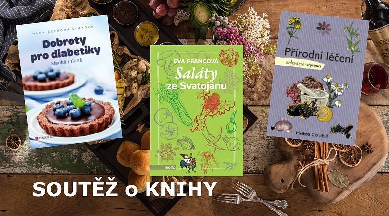 SOUTĚŽ o tři knihy o jídle a o zdraví