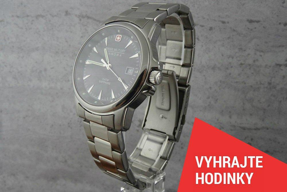 Švýcarské hodinky Hanowa za fotku!