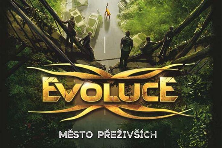 Vyhrajte tři audioknihy Evoluce – Město přeživších