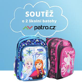 Back to school! Vyhrajte 2 školní batohy v naší soutěži.