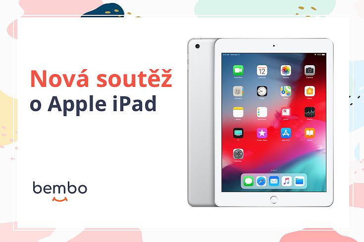 Soutěž o nový Apple iPad 32GB ve stříbrné barvě