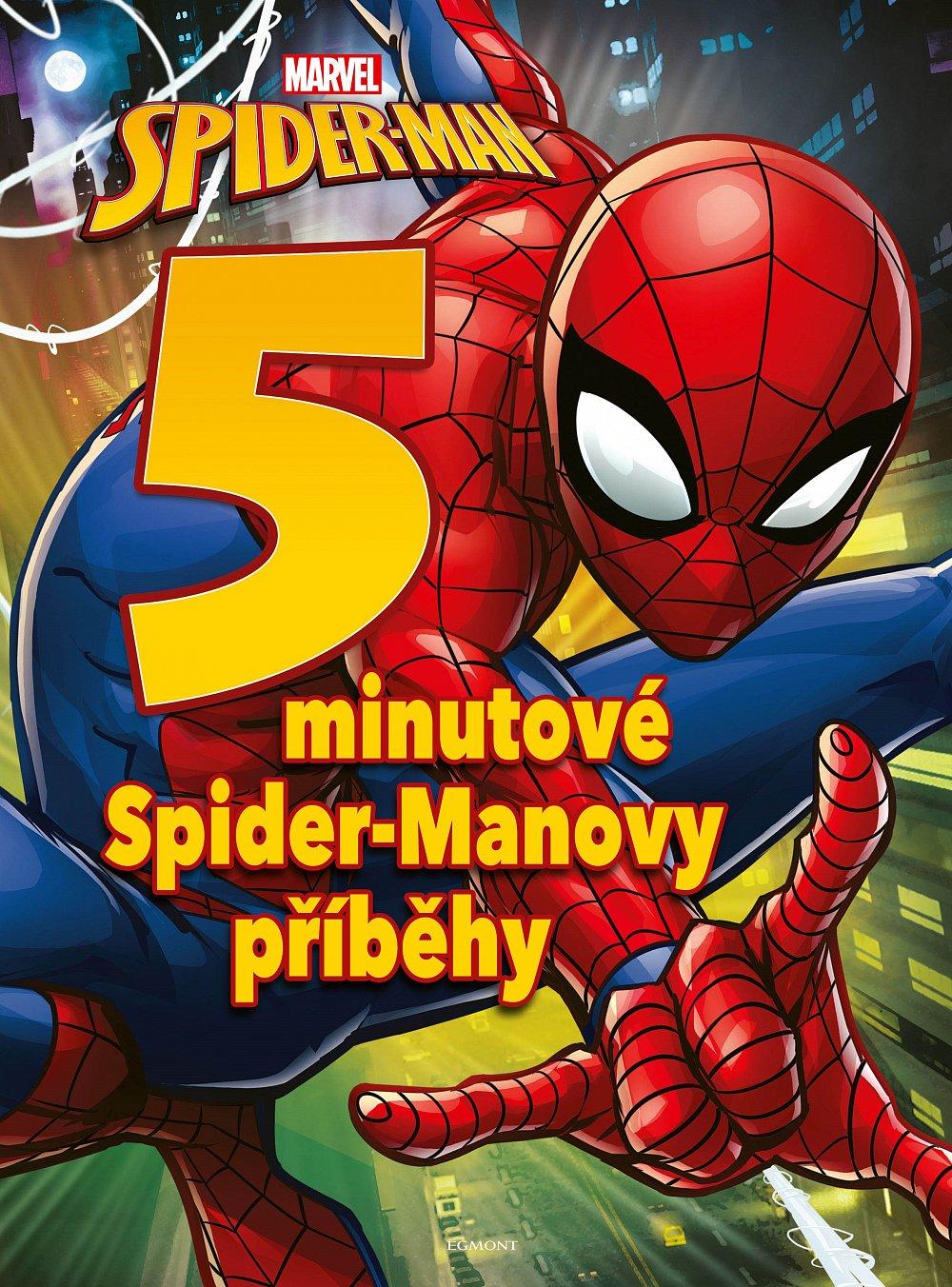 Soutěž o knihu Spider-Man - 5minutové Spider-Manovy příběhy
