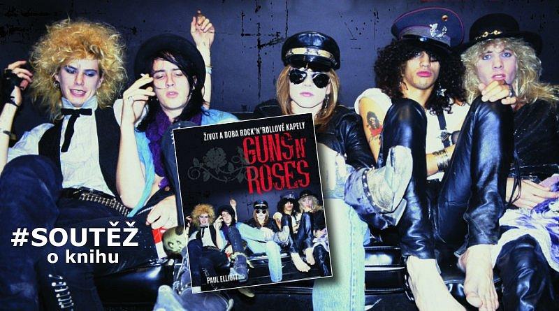 SOUTĚŽ o knihu Guns N' Roses