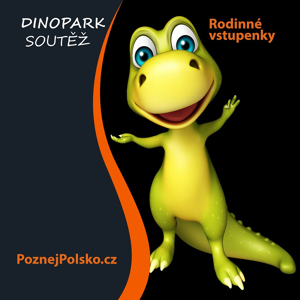 Dino Park - rodinné vstupenky