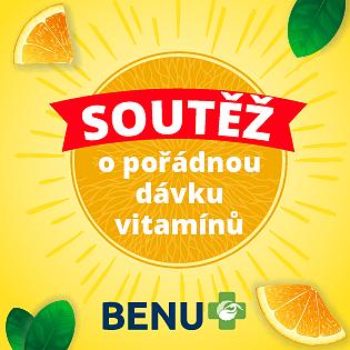 Soutěž o vitamínové balíčky produktů značky LIVSANE s BENU lékárnou