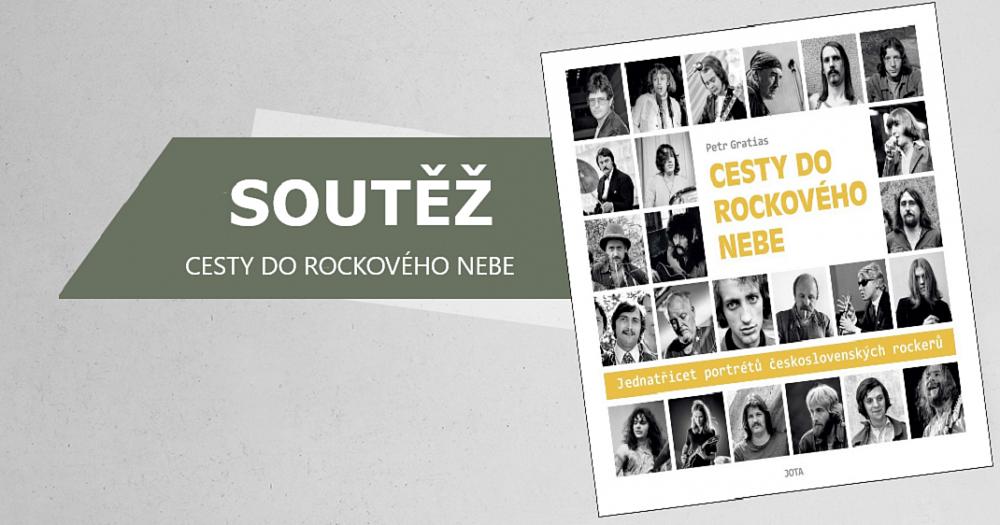 Soutěž o 3 výtisky knihy Cesty do rockového nebe
