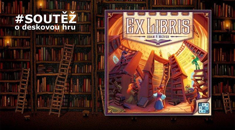 SOUTĚŽ o deskovou hru EX LIBRIS