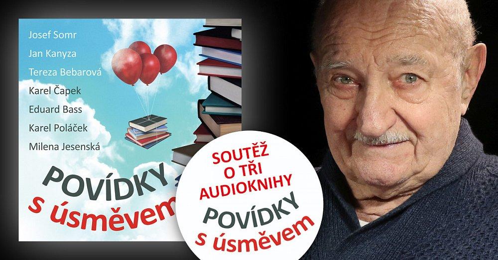 SOUTĚŽ: Vyhrajte tři audioknihy českých povídek
