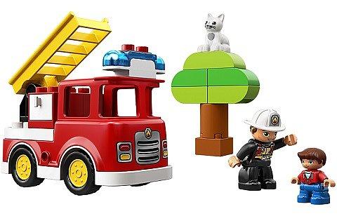 Soutěž o 4x stavebnici LEGO® DUPLO® Hlasičské auto