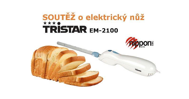 Soutěž o Elektrický nůž Tristar EM-2100