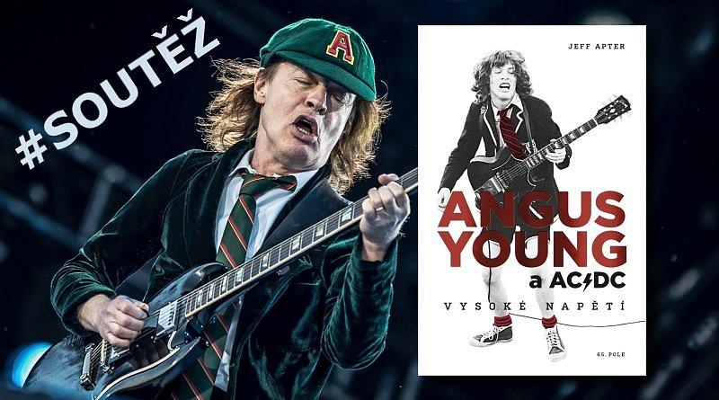 SOUTĚŽ o knihu Angus Young a AC/DC: Vysoké napětí