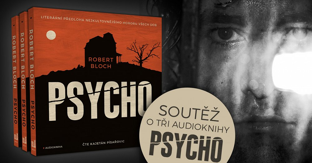 Soutěž o 3 audioknihy PSYCHO