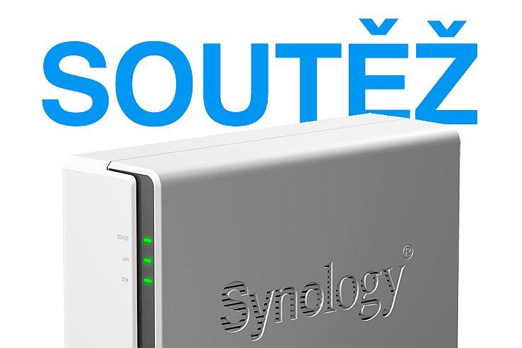 Soutěž o server Synology DS119j