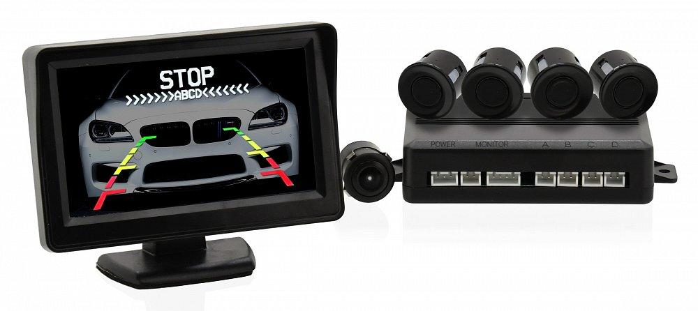 Soutěž o Parkovací asistent 4 senzory + zadní kamera♥