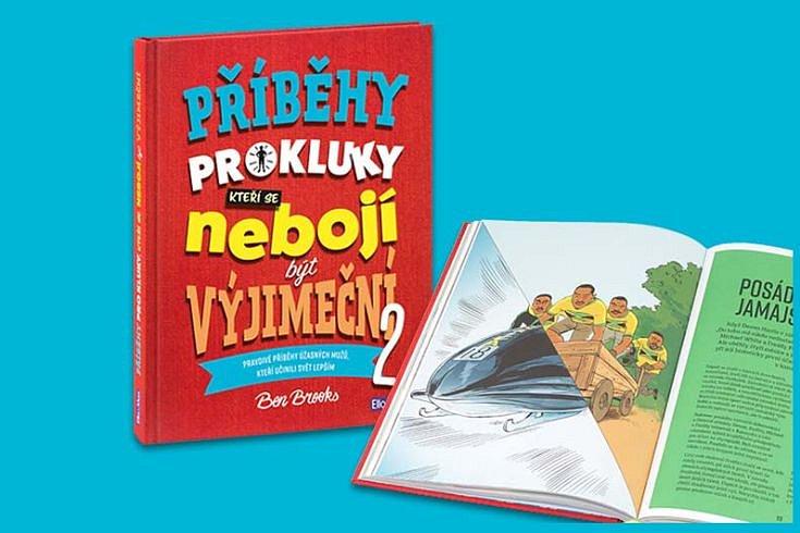 Vyhrajte tři knihy Příběhy pro kluky, kteří se nebojí být výjimeční 2