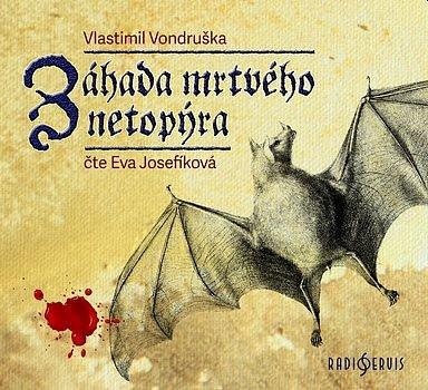 Soutěž o tři audioknihy Záhada mrtvého netopýra