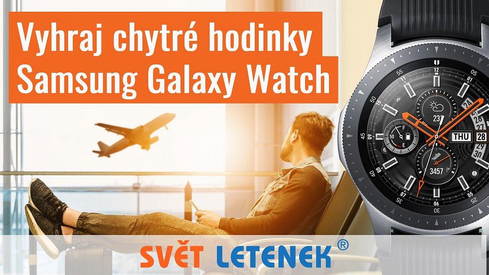 Vyhraj chytré hodinky Samsung Galaxy Watch