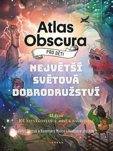 Soutěž o knihu Atlas Obscura pro děti