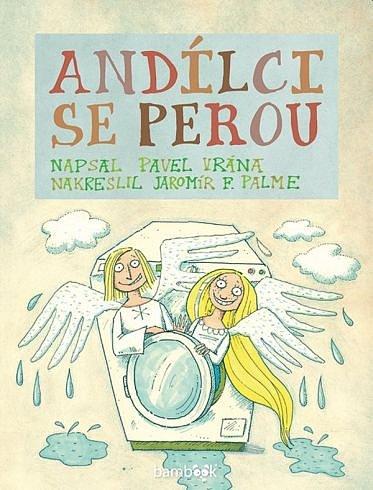 Soutěž o dětskou knížku Andílci se perou