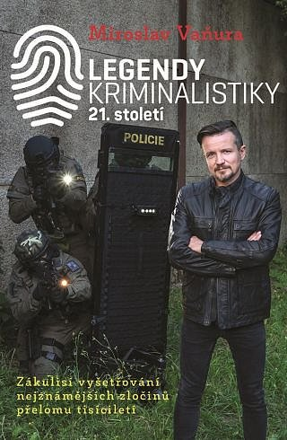 Soutěž o knihu Legendy kriminalistiky 21. století