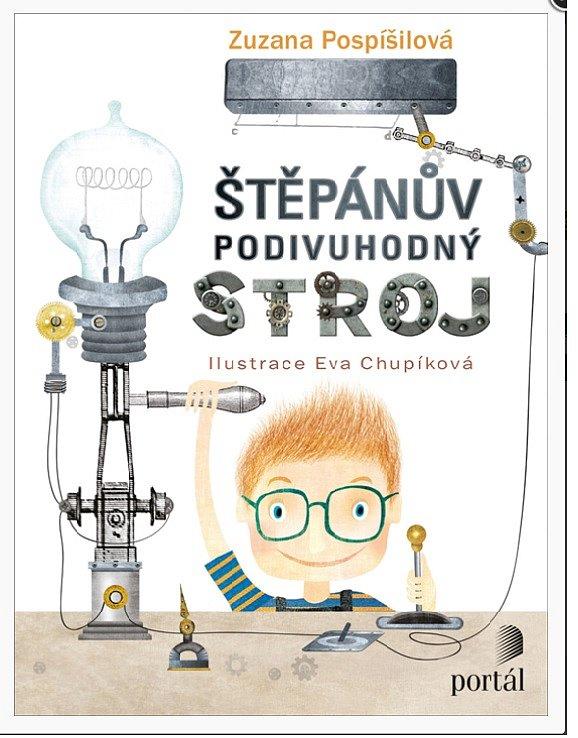 Soutěž o knihu Štěpánův podivuhodný stroj