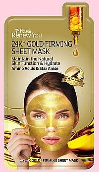 Velká 14denní soutěž o pleťové masky i zlatou masku 7th Heaven Renew You