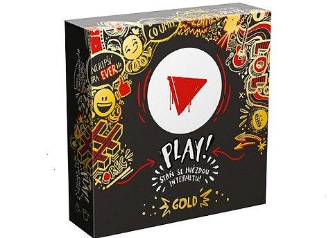 Soutěž o 3x stolní hru PLAY! GOLD