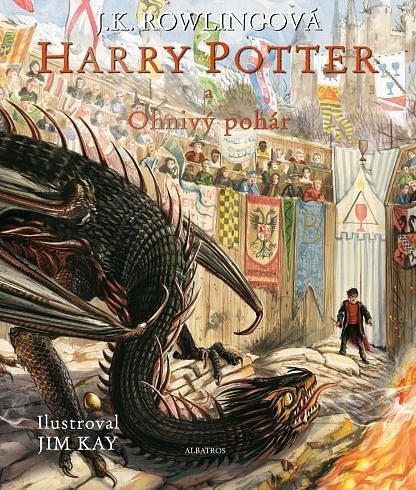 Soutěž o ilustrované vydání knihy Harry Potter a Ohnivý pohár