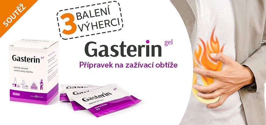 Soutěž o Gasterin gel