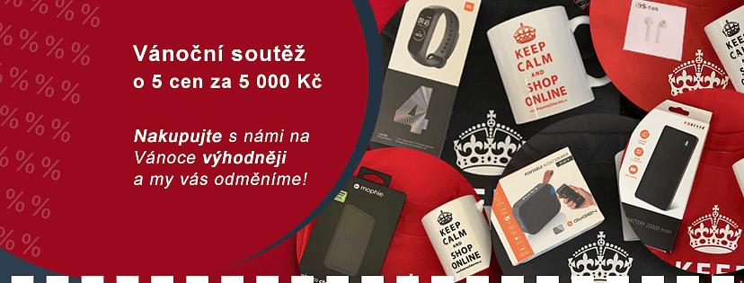 Vánoční soutěž o 5 cen za více než 5000 Kč na KuponyZdarma.cz