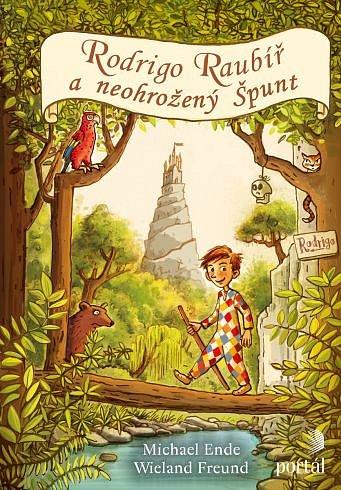 Soutěž o dětskou knihu Rodrigo Raubíř a neohrožený Špunt