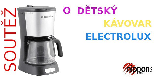 Soutěž o dětský kávovar Electrolux ETY06
