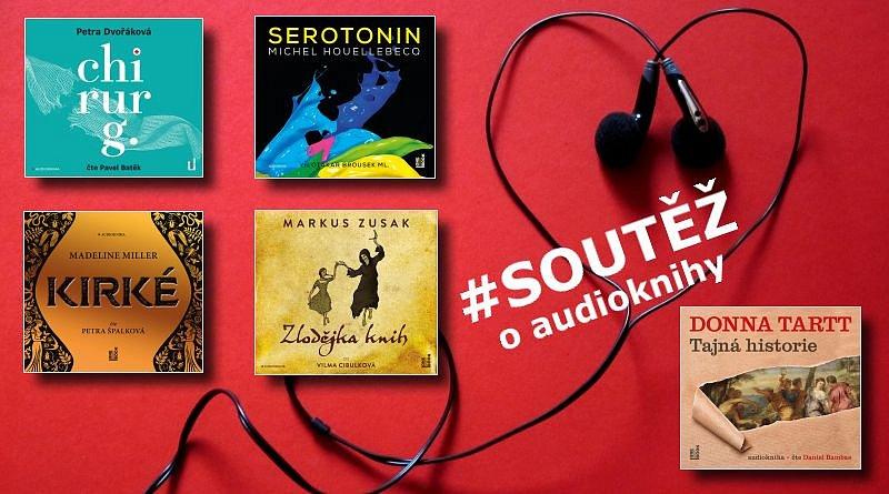 SOUTĚŽ o pět audioknih z vydavatelství OneHotBook