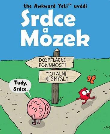 Soutěž o komiksovou knížku Srdce a Mozek