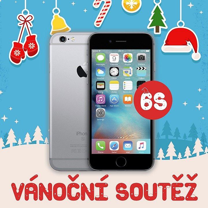 Vánoční soutěž o Apple iPhone 6s
