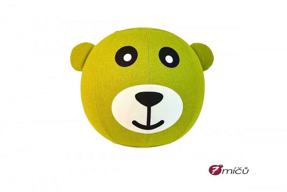 Soutěž o sedací míč medvěd se jménem Fíla