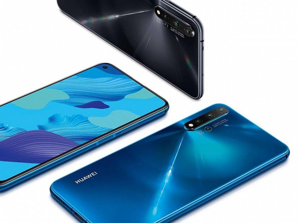 Soutěž o nový smartphone Huawei Nova 5T